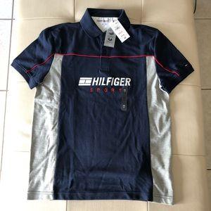 NWT Tommy Hilfiger Sport performance polo shirt